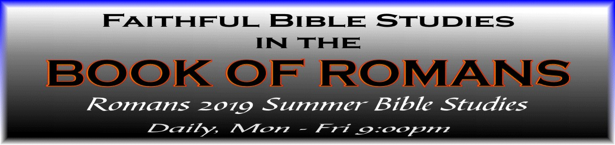 Evening Romans Series Bible Study image