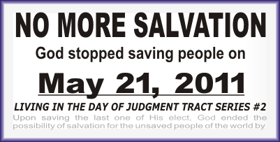 NO MORE SALVATION Tract pdf image